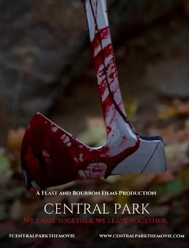 中央公园的海报图片