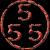 555纹身