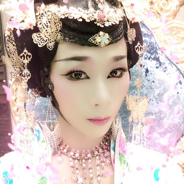演员一蓝晓蝶