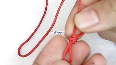 【编绳教程】001-金刚结打法-单个金刚结