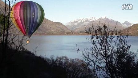 体验皇后镇:热气球