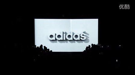 adidas 阿迪达斯 运动风格 2010 开幕投影