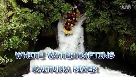 世界上最高的瀑布漂流-新西兰老鼠河漂流与皮艇探险公司