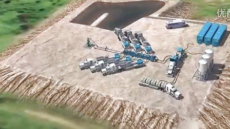 水平井钻井和水力压裂全过程高清动画