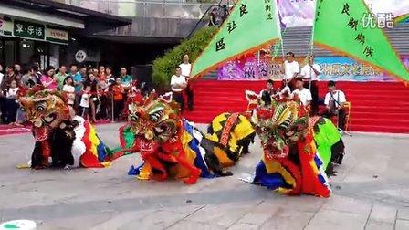 《安良社区麒麟队》横岗街道第二届文化艺术节非物质文化展演!