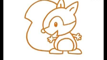 松鼠简笔画教程
