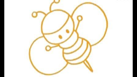 蜜蜂简笔画教程