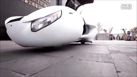 两轮纯电动汽车原形车试驾