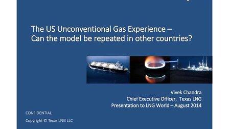 美国非常规天然气的经验-这一模式可以复制到其他国家吗?