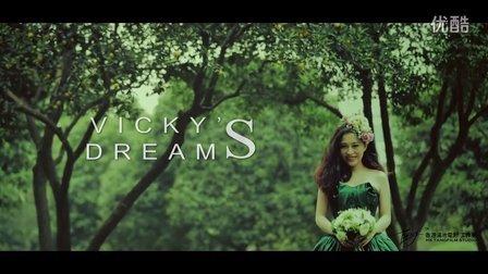 香港汤池电影婚礼作品《Vicky's dream》