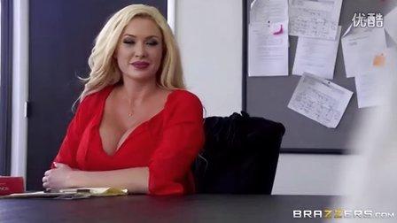 老板娘在办公室开会