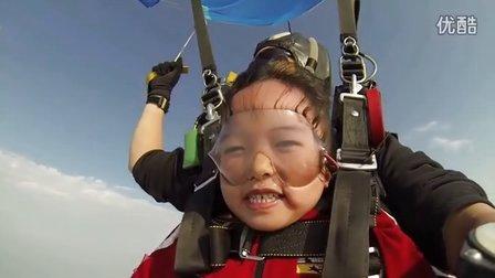 没有翅膀,也许可以这样飞……【翔大跳伞俱乐部勇敢体验营】