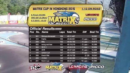 香港TRC MATRIX CUP 2015 IN HONG KONG 1/10 A组决赛