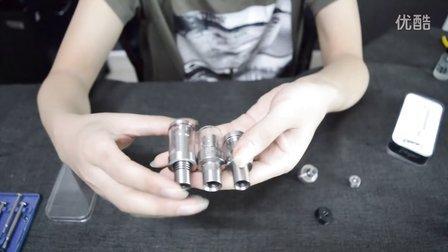 西户电子烟最新成品大烟雾马里奥雾化器拆解横向对比评测