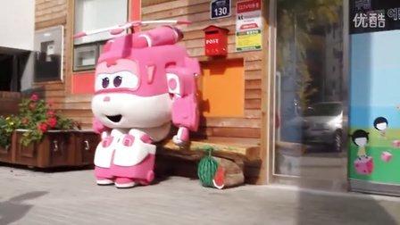 超级飞侠_Super Wings_现场送礼物 특급 생일축하 이벤트 05 ~나연이편~