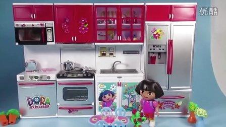 爱探险的朵拉 朵拉的厨房 过家家 水果切切看 33