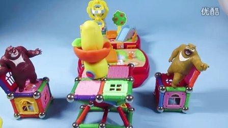 小猪佩奇与迷你美美手提包变时尚小屋 146