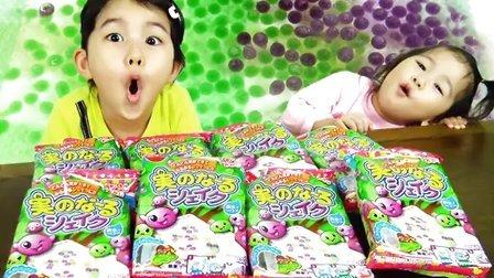 儿童过家家玩具视频 培乐多彩泥针桶