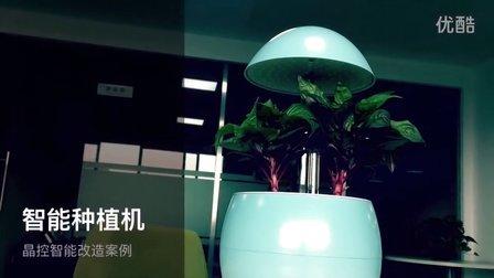 基于物联网的智能化植物种植机(迷你花园)案例 - 杭州晶控电子物联网改造案例