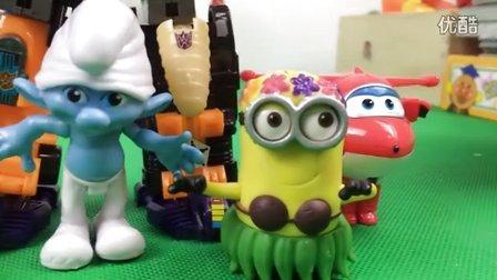 缤纷歌唱小精灵玩具组合;可爱彩虹小玩具会唱歌哟!托马斯小火车小猪佩奇 #车车王国#