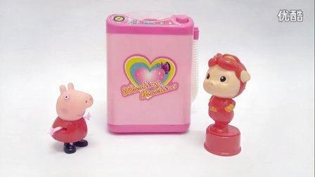 培乐多泡沫粘土闪亮夹心饼;手工DIY闪粉晶莹玩具试玩!小猪佩奇熊出没 #PomPom玩具#