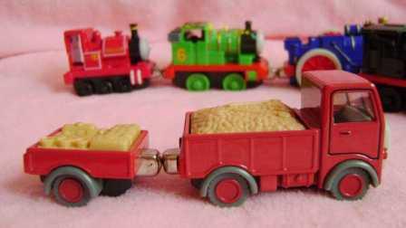 粉红可爱弹力小怪兽手工DIY 培乐多彩虹糖豆儿童玩具组装试玩#PomPom玩具#