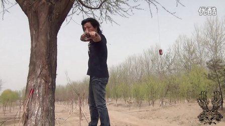 52弹弓网 [横握瞄估打] 弹弓如何精准射击教程