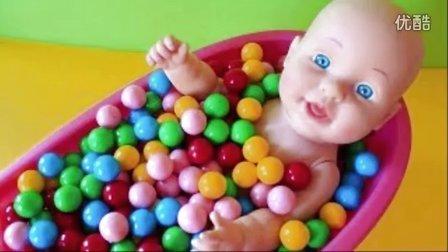 婴儿娃娃 美味的糖果 婴儿玩具 婴儿的视频 Baby Doll Gumdrops Toy Doll