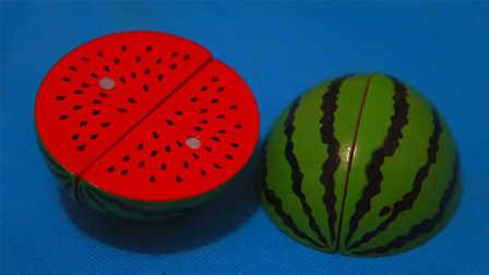 大西瓜水果切切看 过家家游戏