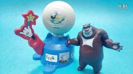 手工DIY泡沫颜料玩具试玩;彩色冰冻果冻软软圈制作哟!小猪佩奇熊出没 #PomPom玩具#