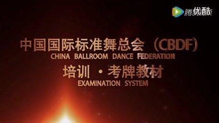 2016 CBDF拉丁舞恰恰舞金星一级套路教学