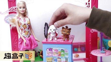 韩国花样儿童玩具大礼包;超级芬兰库肯模型料理玩具试玩!小猪佩奇熊出没 #PomPom玩具#