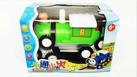 会翻跟斗的托马斯 托马斯小火车拆箱试玩 256
