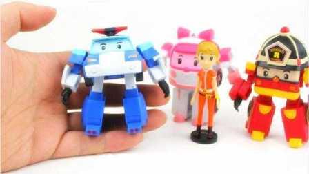 变形警车珀利 玩具世界救援队 269