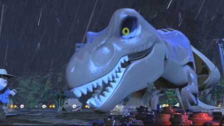 乐高侏罗纪世界第02期 迅猛龙挖掘场!!侏罗纪公园