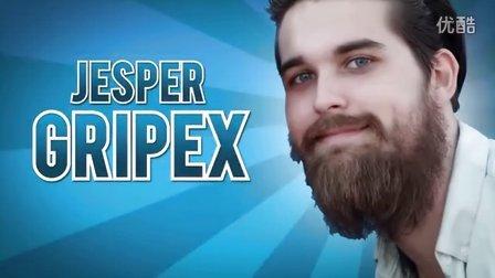 【酷】北美第一盲僧胡子大叔Gripex集锦