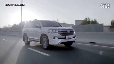 2016款丰田全新兰德酷路泽