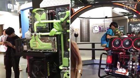 computex 2016 七彩虹超炫水冷主机