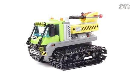 [速组评测]Lego City 乐高  城市系列 60122 火山勘探爬行者