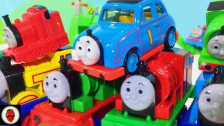 粉红猪小妹 托马斯小火车  136