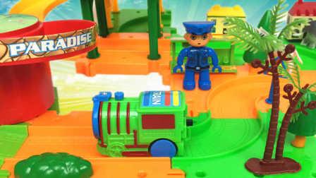 赛车总动员 辉哥的有机燃油摊玩具 趣哥哥详解 趣盒子玩具