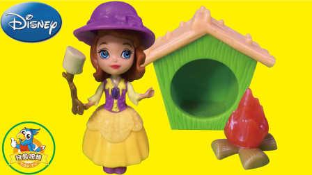 迪士尼苏菲亚公主生活玩具套装