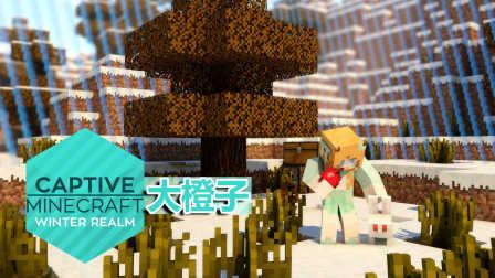 【大橙子】我的世界1.10被囚禁的世界Ⅳ:寒冬领域-第3集-蘑菇牛