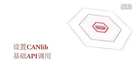 设置 CANlib 基础 API 调用