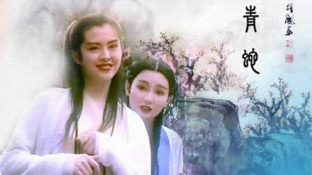 白蛇青蛇之思情 (张曼玉,王祖贤,赵文卓,吴兴国)古装美女 武侠图片