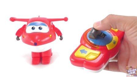 超级飞侠遥控变形电动乐迪变身玩具 474