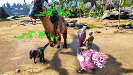 【逍遥小枫】方舟:生存进化-起源mod实况#2:驯服巨型陆行嘟嘟鸟,菊花塞果的妙用!