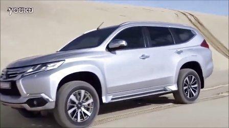 2016三菱帕杰罗运动SUV全路况驾驶测试