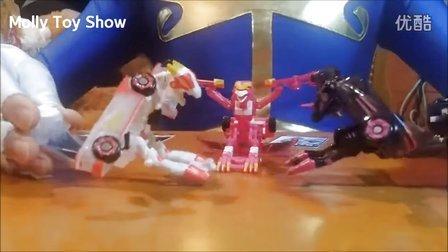 【新魔力玩具学校】魔幻车神 飞翼天马疾风迅龙 涅槃凤凰 自动变形玩具车