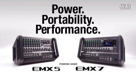 雅马哈有源调音台EMX5/EMX7
